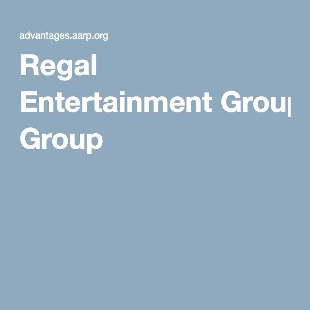 Regal Entertainment Group/AARP Discounts