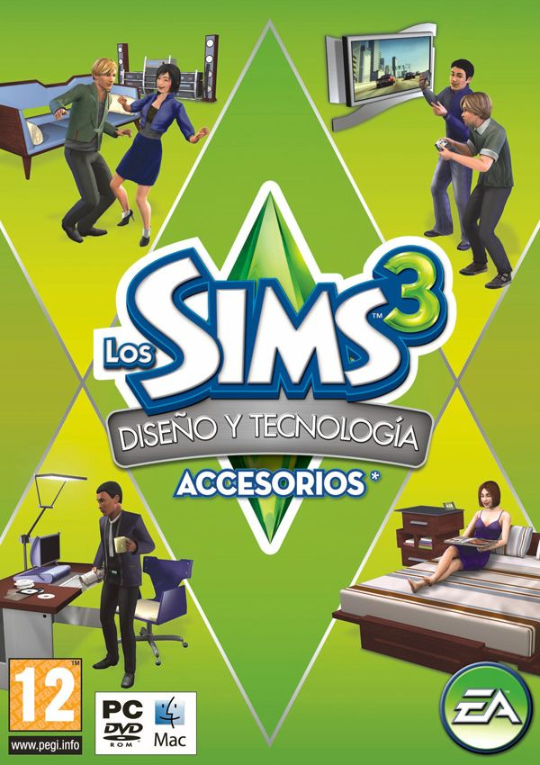 Los Sims 3 Diseño y Tecnología
