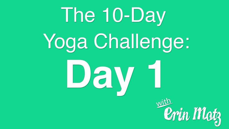 10 Day Yoga Challenge: Day 1 This is really good for arms and core, after this I felt so strong ;)