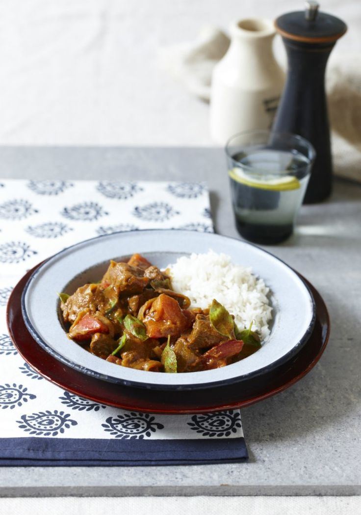 Tuck into this delicious, healthier curry.