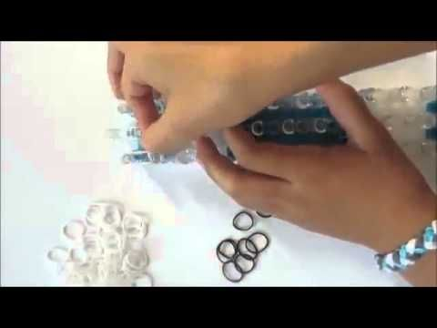 Rainbow Loom Bands OLAF Charm / Pencil Topper (Frozen, loom / bands) - YouTube