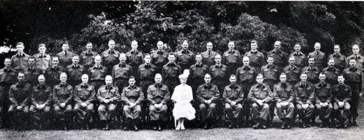 1941 Queen's Own Rifles of Canada Officers 1st Battalion