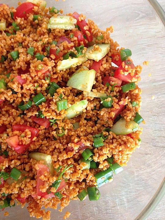 1000+ idéer om Kisir Rezept på Pinterest Bulgursalat rezept - kochrezepte leichte küche