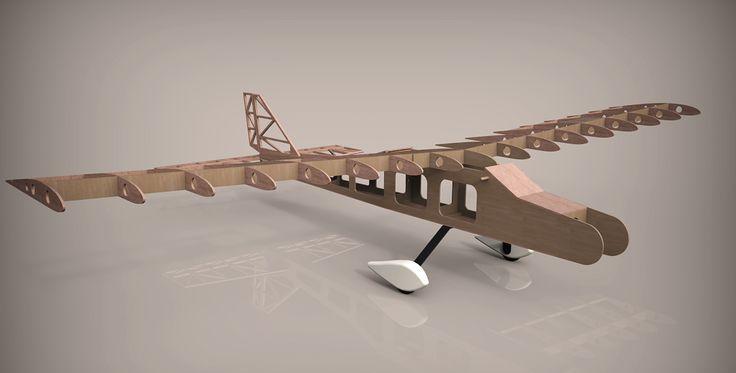 Avión entrenador aeromodelismo