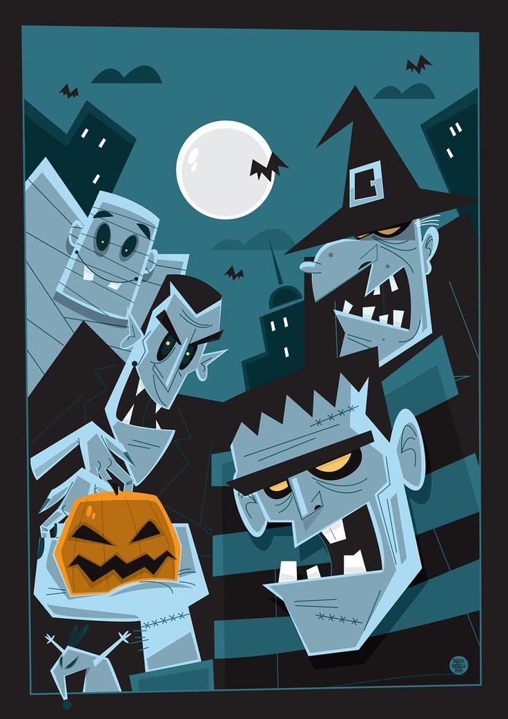 Halloween Vector on Behance