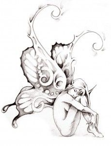 Small Fairy Tattoo Designs And Ideas