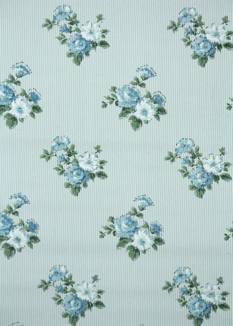 Blue Floral Vintage Wallpaper 100+ ideas to try abou...