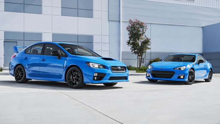 2016 Subaru BRZ and STI get Hyper Blue for new limited special editions
