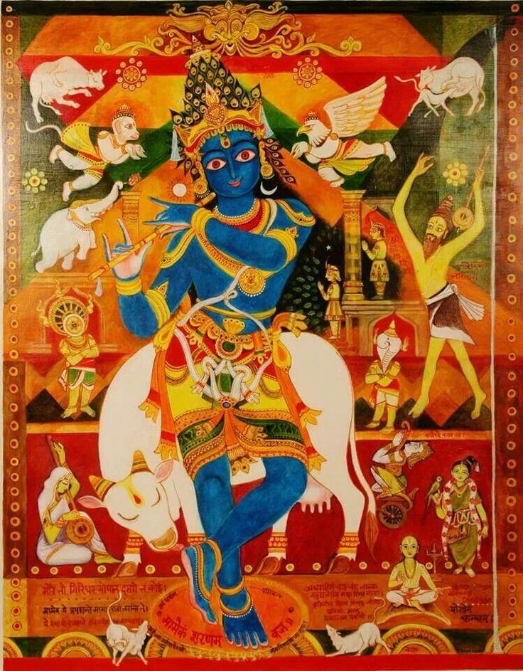 Krishna by artist keshav