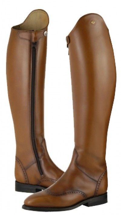 Brown Konig Dressage Boots | Konig Excelsior Dressage Boot - Classic Dressage UK