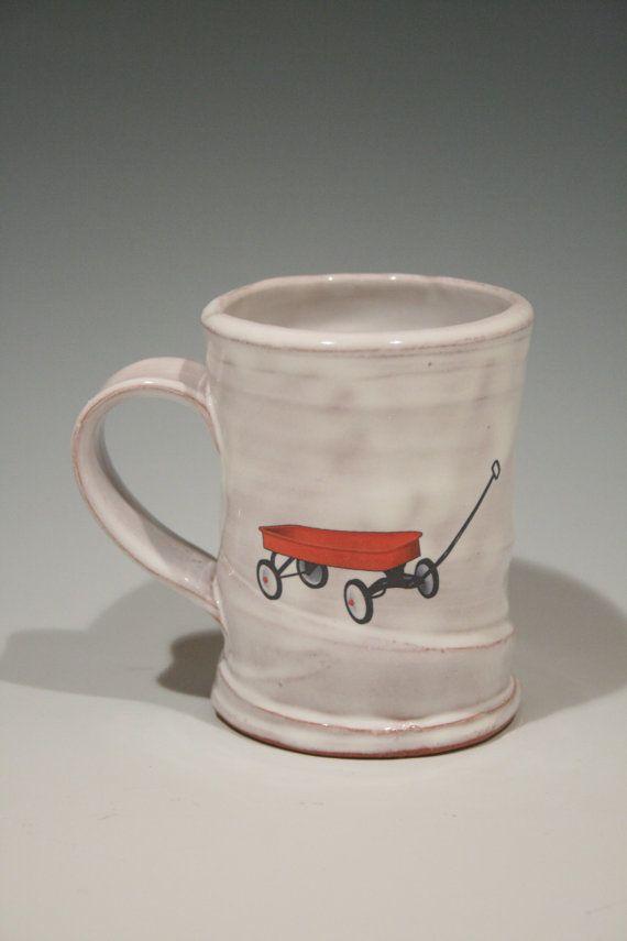 Justin rothshank rothshank etsy wheel thrown mug made with earthenware clay it