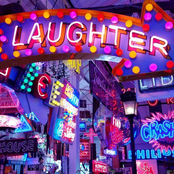 3. God's Own Junkyard - Laughter