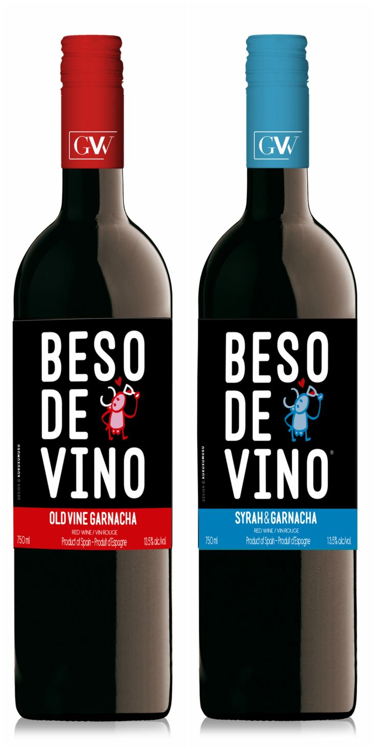 Superstar value wines from Beso de Vino have an all new label!