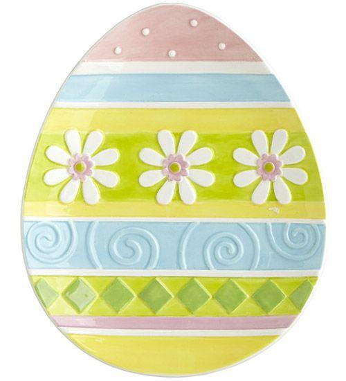 pier plat service 15 objets déco tendances pour la table de Pâques