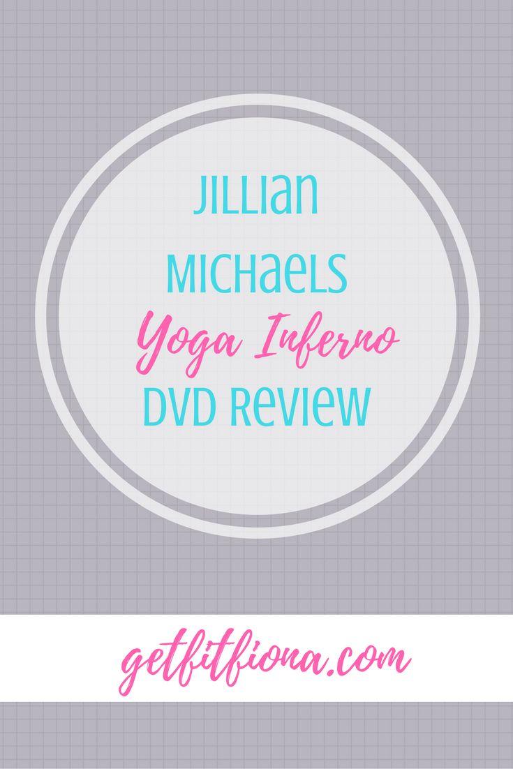 Yoga Inferno review DVD Jillian Michaels workout exercise pose