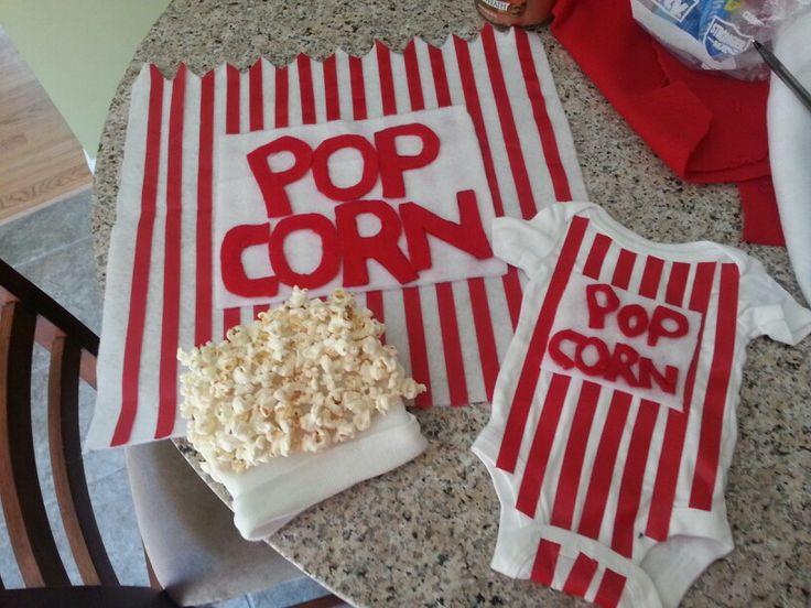 Baby popcorn costume