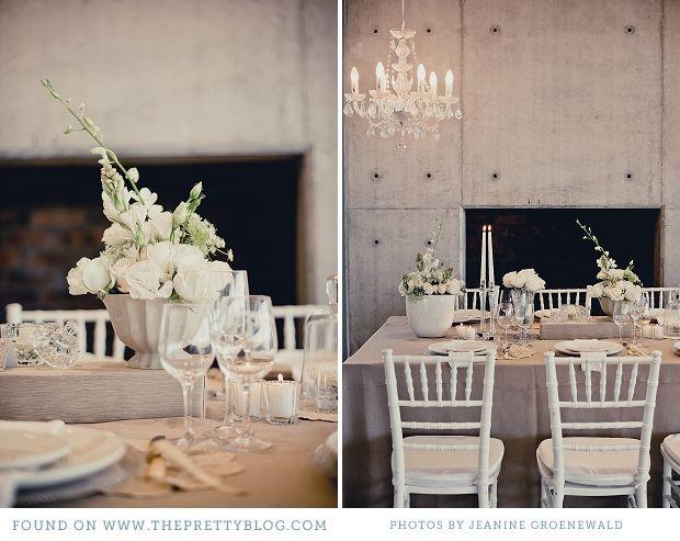 white & grey romantic inspiration