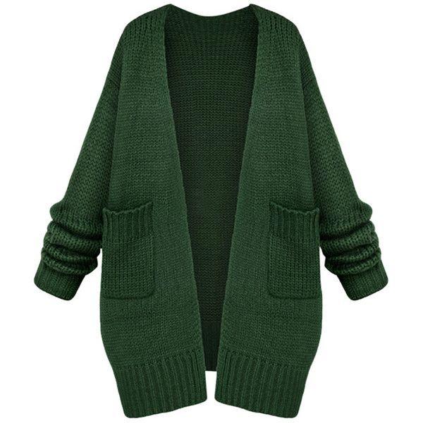 Зеленый джемпер