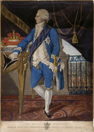 His Royal Highness George Augustus Frederick, Prince of Wales &c &c: 18th century, Richard Dighton