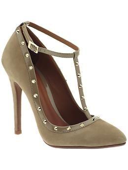 Studded heels:)