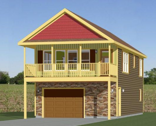 20x40 house 20x40h6 houses pinterest house plans for 20x40 cabin