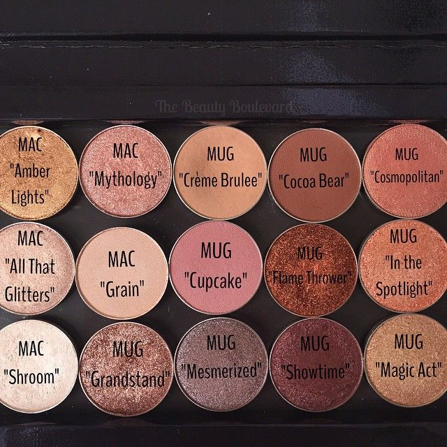 Makeup Geek and MAC eyeshadows. | The Beauty Boulevard #beauty #makeup