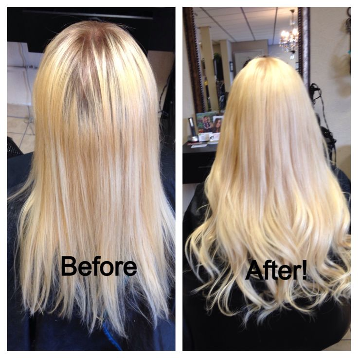 Tape In Hair Extension Before And After Hair By Erica