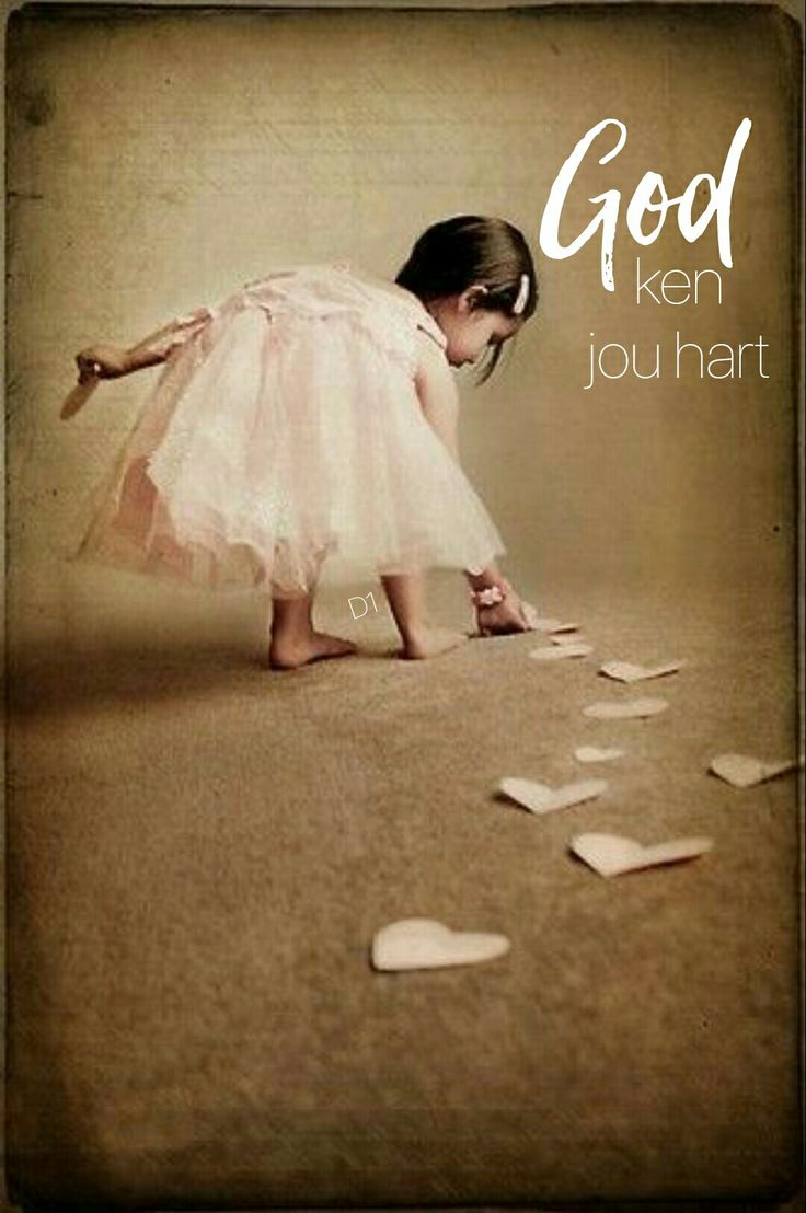 God ken jou hart