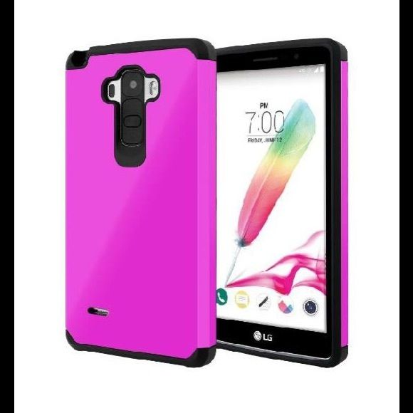 lg mobile 2015. lg g stylo case, g4 stylus case celljoy [liquid armor] {pink} ls770 2015 release model slim fit dual layer lg mobile