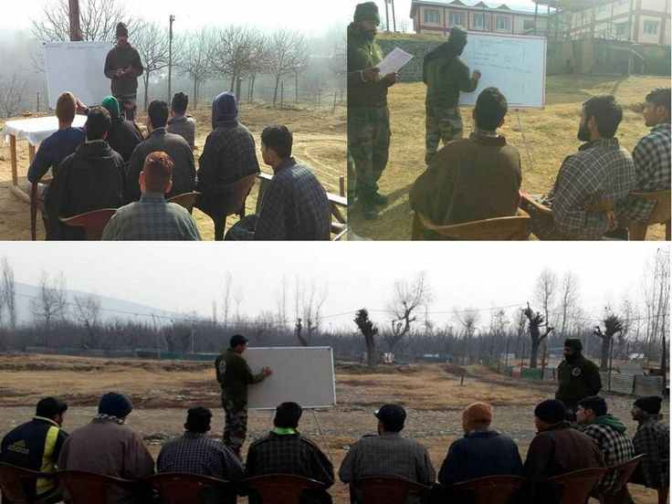 Continuing with its endeavour to enlighten the youth of the Valley about various job opportunities  #IndianArmy organised  Recruitment Guidance Camp at Kazhwan Kokernag and Rainpora J&K. The Guidance Camp was attended by a large number of http://youth.pic.twitter.com/WPDITyp3uo #IndianArmy #Army
