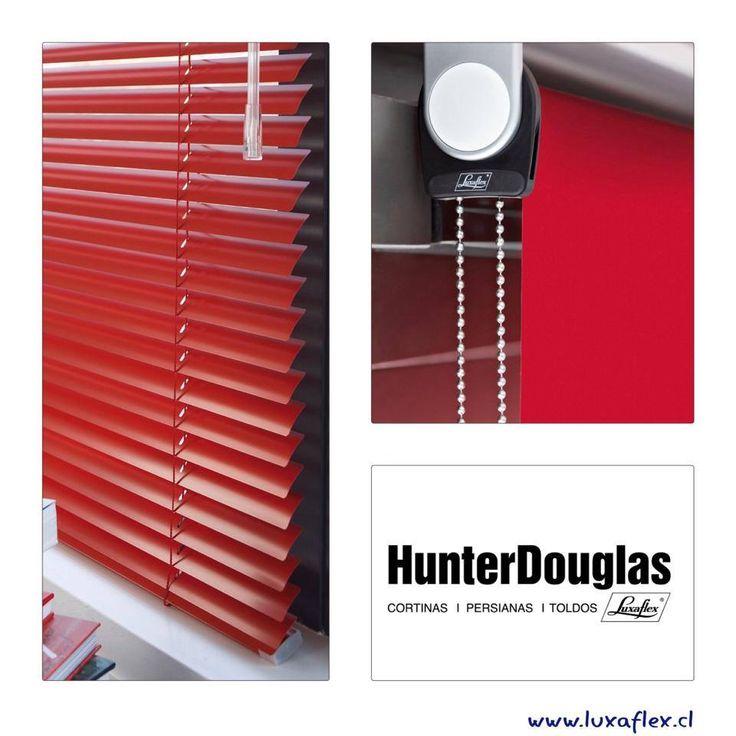#red #tones  Cortinas Roller & Persianas Precious Metals Luxaflex® HunterDouglas.