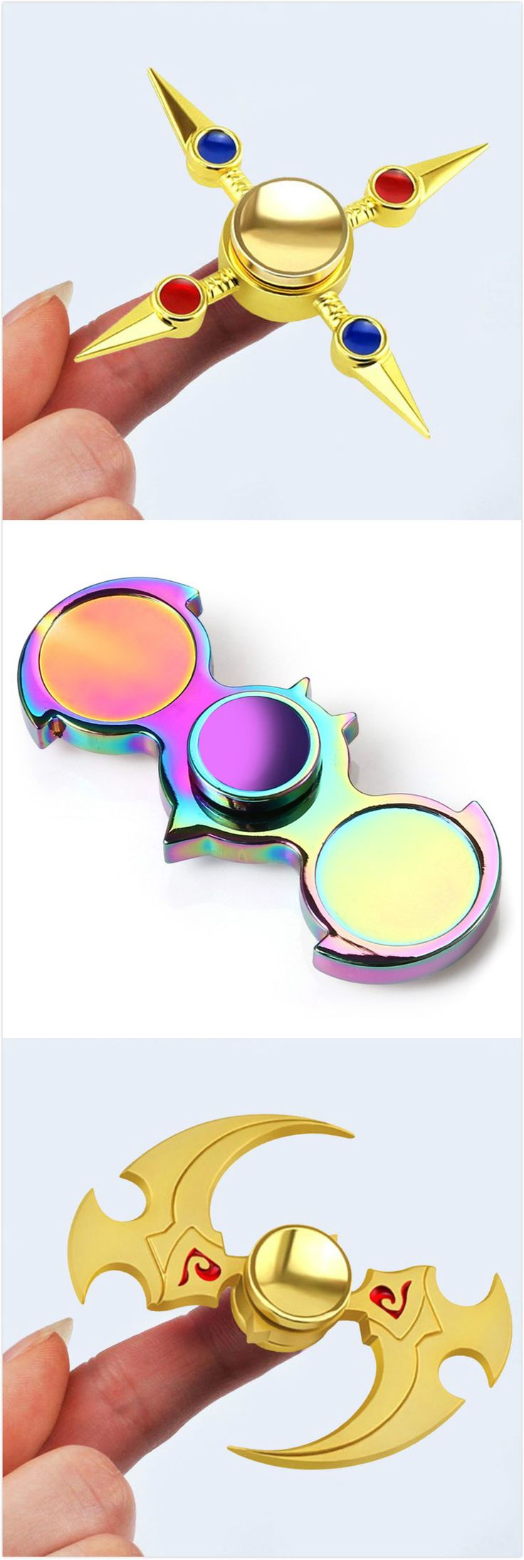 $7.07Cross Shaped Antistress Hand Finger Gyro Spinner