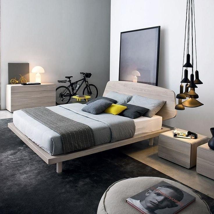 Das Design Schlafzimmer Von Novamobili Im Minimalistischen Geradlinigen  Stil. #Schlafzimmer #bedroom #Bett