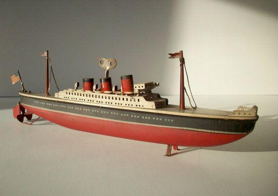 Wooden Boat Toy Diy