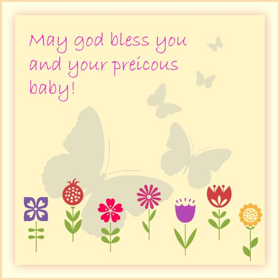 #Baby #Shower #Message #Greeting #Card