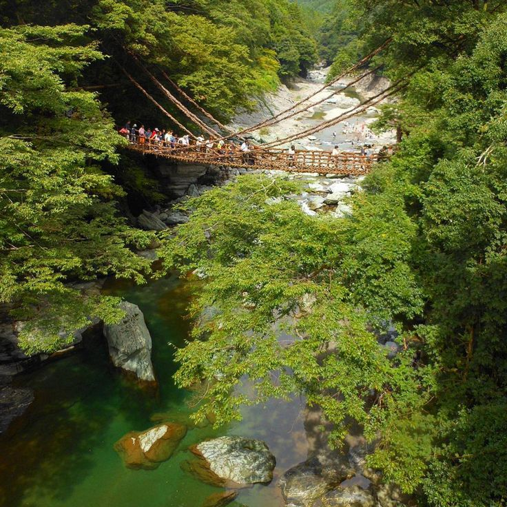 6. Iyakei / Iya Valley, Tokushima Prefecture - The Gorgeous Valley