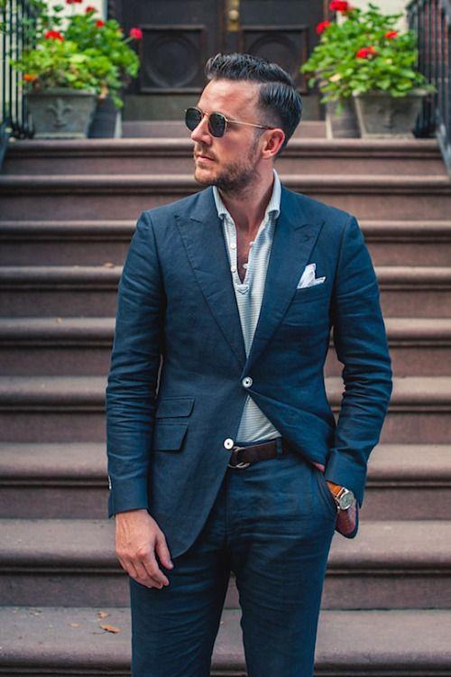 25  best ideas about Casual suit on Pinterest | Suits, Mens suits ...