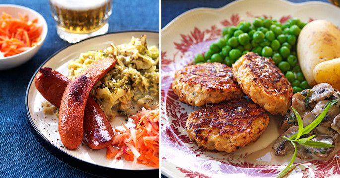Äta nyttigt och gott? Inga problem! Hos oss hittar du smala och läckra recept som är lätta att laga och mättar bra. Fisk och skaldjur, krämiga soppor, ugnsrostade rotfrukter, matiga sallader…