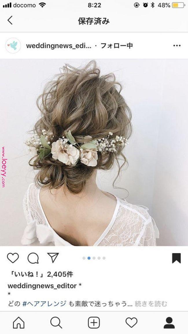 花を使ったロマンチックな結婚式のヘアスタイル ヘアード ヘアード 花を使ったロマンチックな結婚式のヘアスタイル ウェディング ヘアスタイル ナチュラル ヘアアレンジ ウェディング ヘアスタイル 花