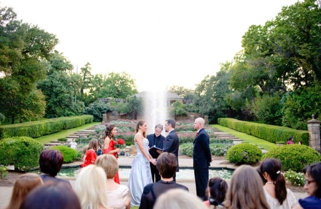 Fort Worth Botanical Gardens Wedding The Gardening