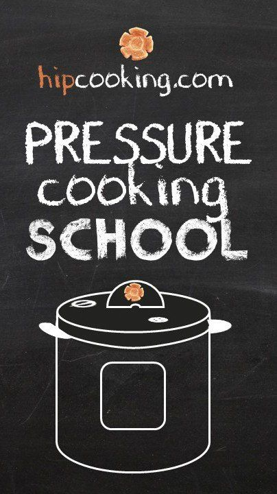 Pressure Cooking SCHOOL! A free video series that teaches everything you need to know about your pressure cooker.