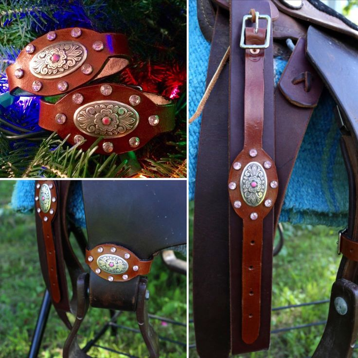 Kelly's Leather Design: Twelve Days of Christmas   On the seventh day of Christmas Kelly's Leather Design offers you: ❅ $5.00 off the Pink Accented Leather Stirrup Hobbles