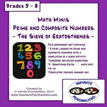 """Über 1.000 Ideen zu """"Sieve Of Eratosthenes auf Pinterest   Mathe ..."""