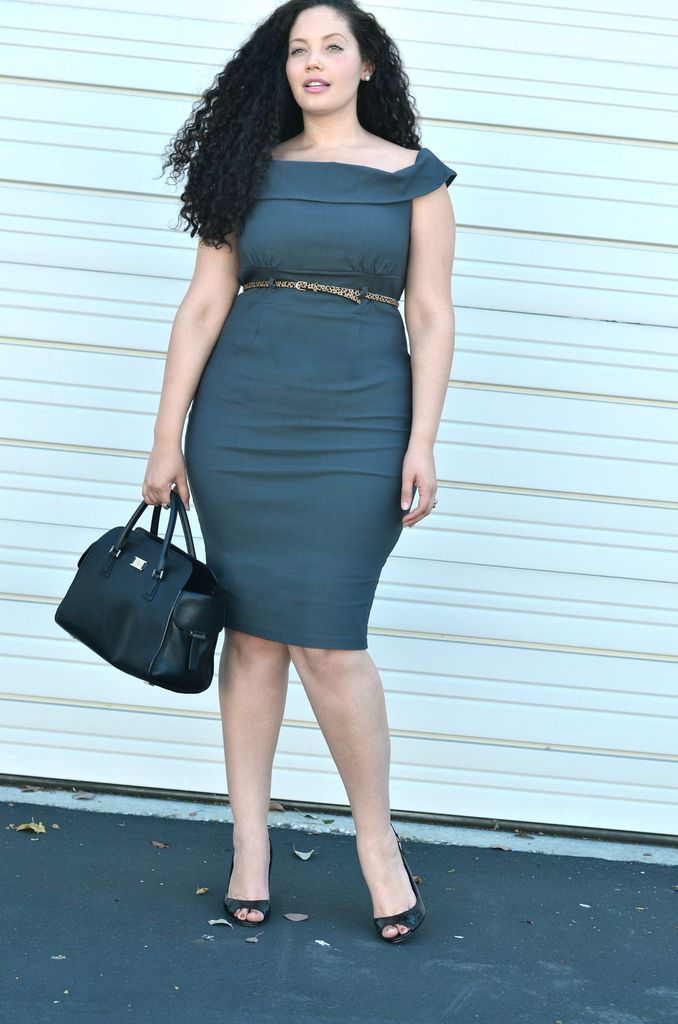 Girl With Curves: Power Dress (from Torrid)