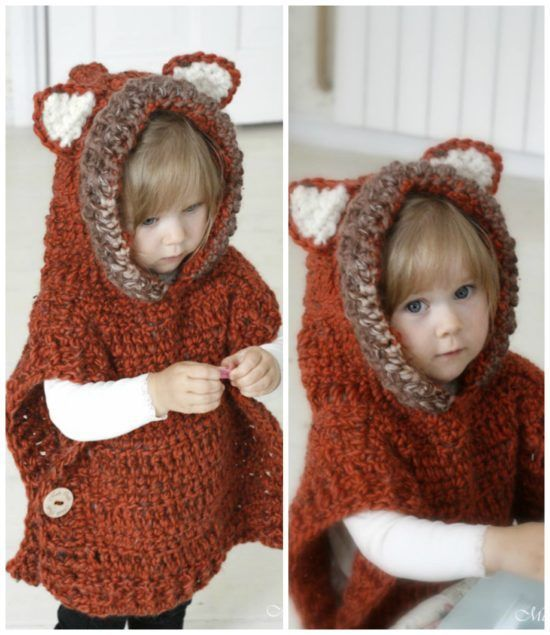 Fox Hooded Cowl Crochet Pattern Free Video | The WHOot