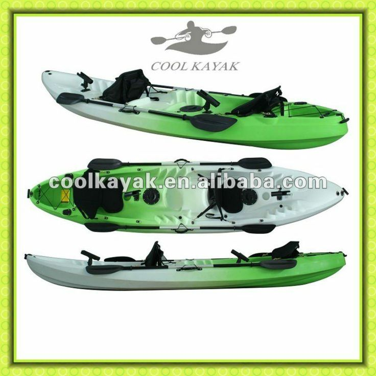 Fishing 2 person plastic kayaks kajak for sales from Cool Kayak Brand $200~$300