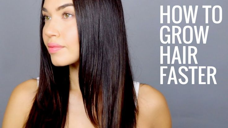 HOW TO GROW HAIR FASTER   How to get Naturally Thicker, Fuller, Longer Hair - YouTube