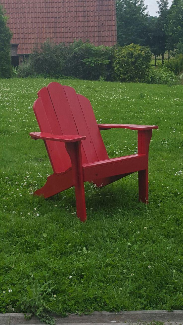 Adirondack chair en palette