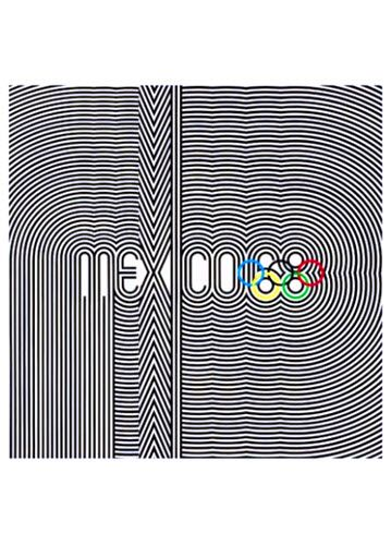 1968 Olympics Mexico Poster