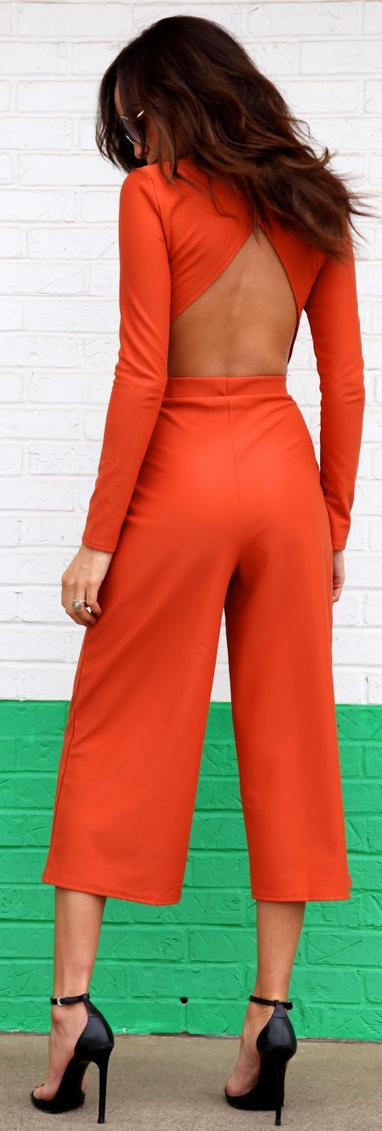 Tangerine Co-ord Set by Ring My Bell. Orange summer women fashion outfit clothing style apparel @roressclothes closet ideas